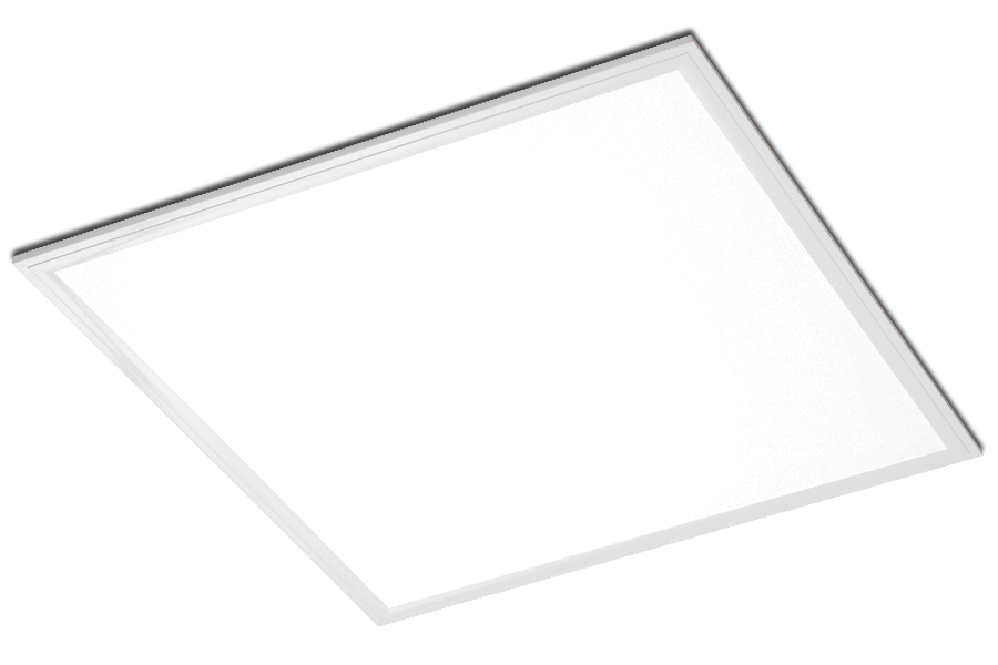 600 x 600 recessed LED modular. low glare